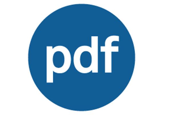 تحميل برنامج تحويل ملفات النصوص والصور إلى بي دي إف pdfFactory للويندوز