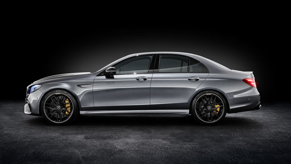 New 2018 Mercedes-AMG E 63 S 4MATIC+ side look