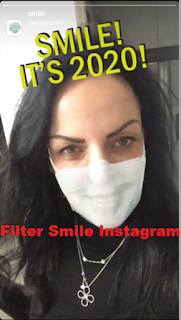 Filter Smile instagram || Cara mendapatkan fake smile filter instagram