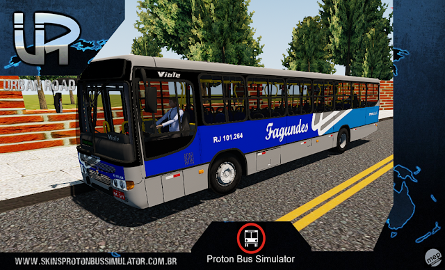 Skin Proton Bus Simulator - Viale MB OF-1721 Fagundes