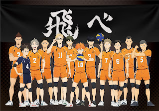 ハイキュー!! 烏野高校排球部 Haikyuu!! Karasuno Hello Anime !