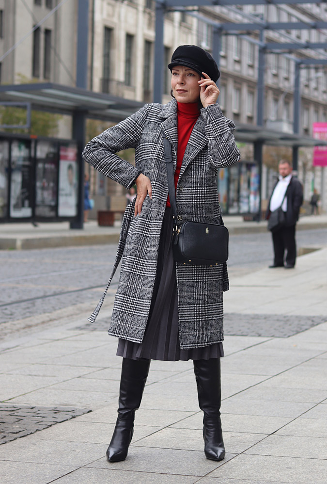 płaszcz stylizacje minimalissmo