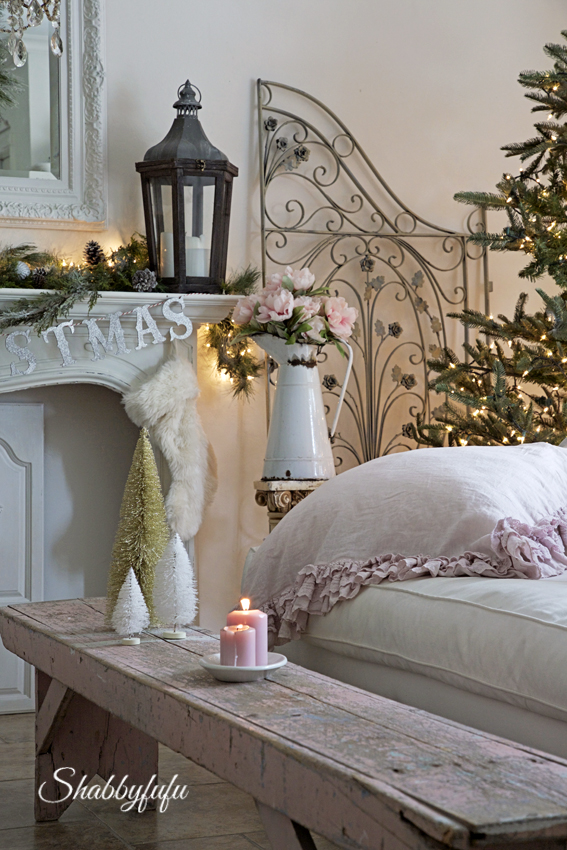 romantic christmas homes
