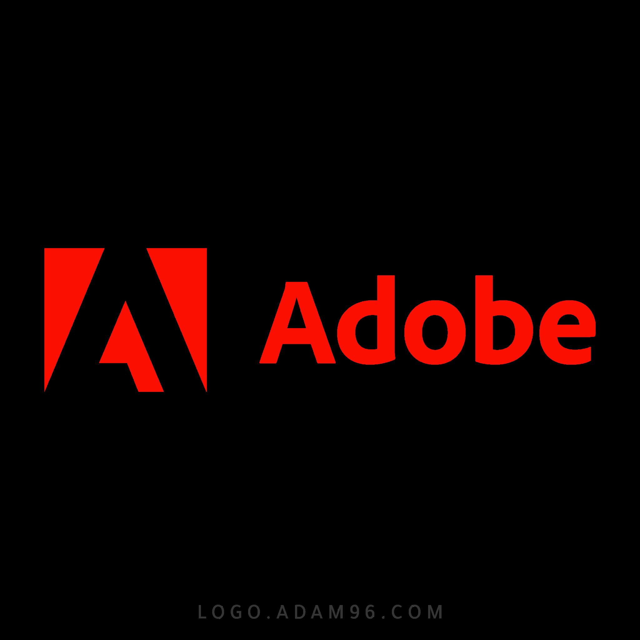 تحميل شعار شركة ادوبي العالمية لوجو رسمي عالي الجودة PNG