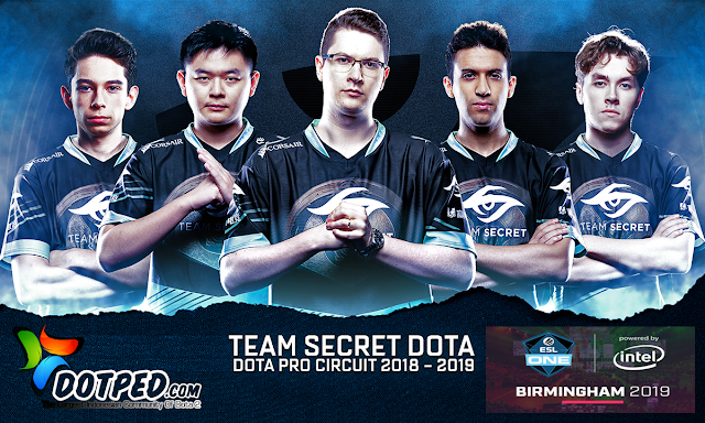 ESL One Birmingham 2019 | Team Secret Lagi-Lagi Borong Piala Major Nya