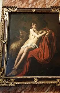 Caravaggio- sfantul Ioan Botezatorul