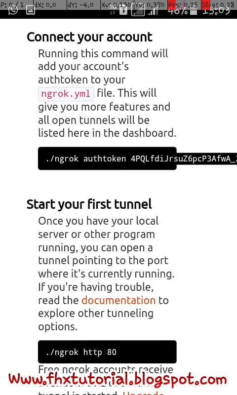 √ Cara install / Menjalankan Ngrok di Android via Termux - FHXploit