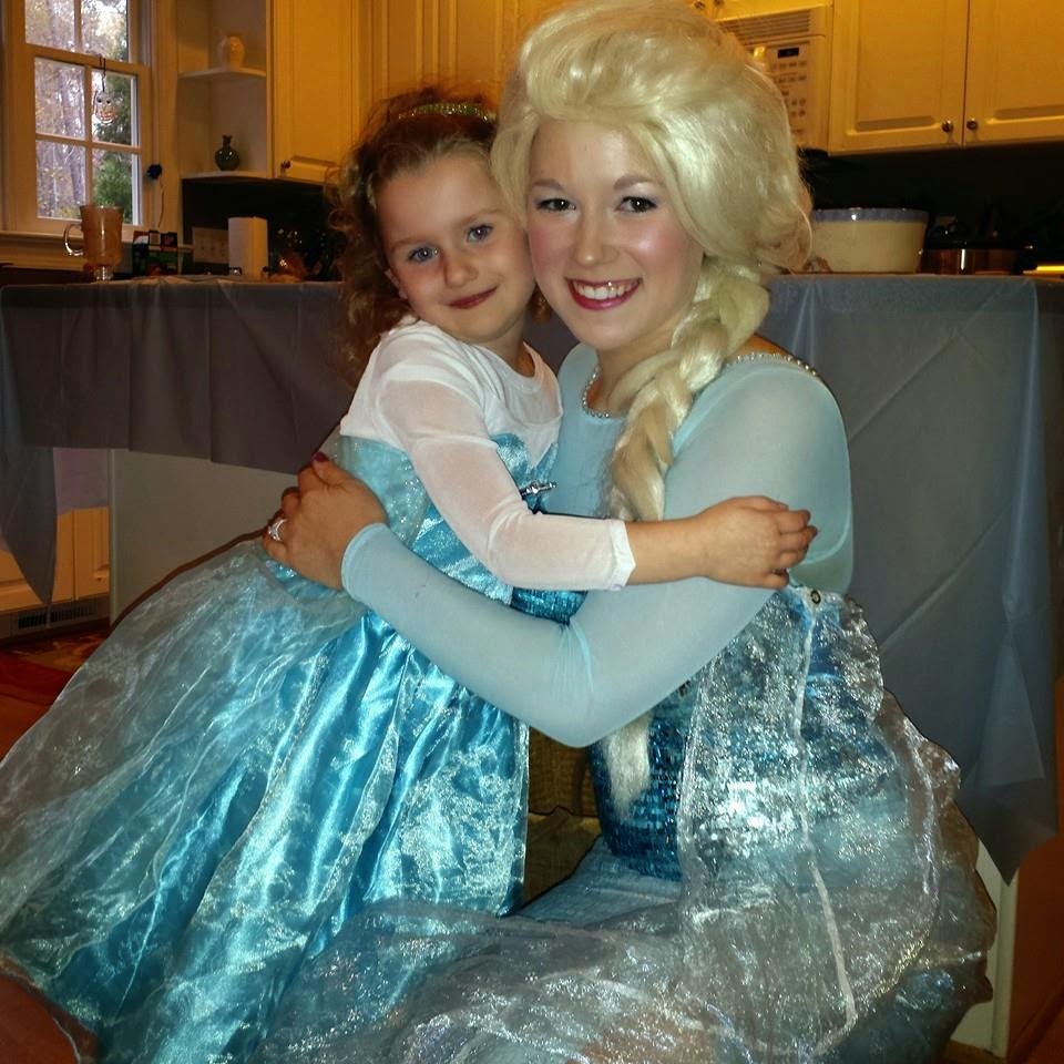 Frozen themed Birthday with Elsa