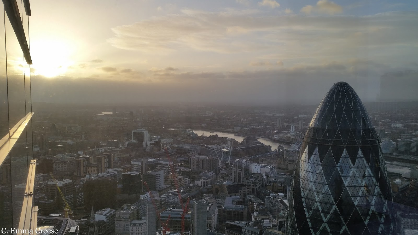 Sunrise brunch at Duck and Waffle