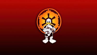 Wallpaper HD Donald Duck Stormtrooper