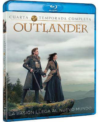 estreno 4 temporada outlander en bluray