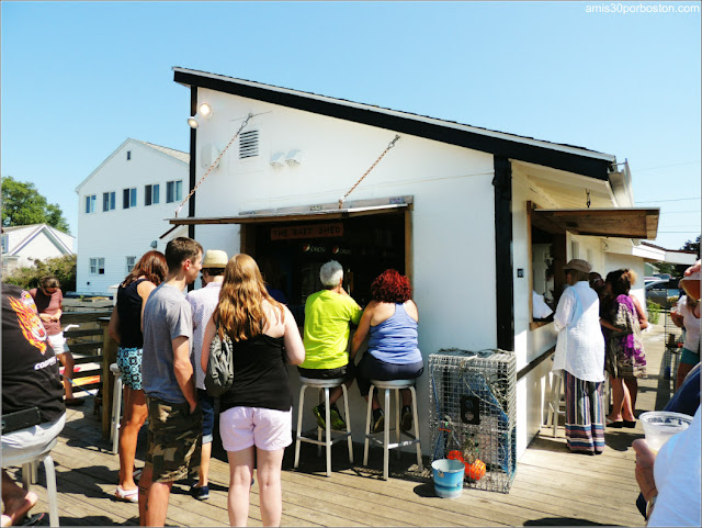 Lobster Shacks en la Costa Sur de Maine: Barra del Bayley's Lobster Pound