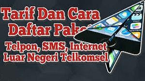 Daftar Paket Internet Luar Negeri Telkomsel