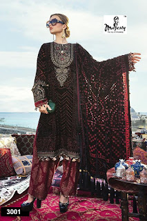 Majesty Maria vol 3 pakistani suits catalog