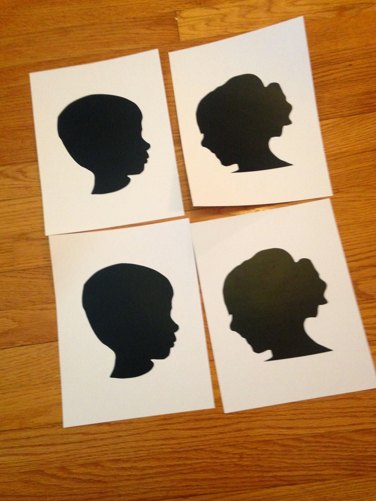 Diy silhouette art with vinyl and cardstock no tricky photography silhouette studio art diy do it yourself vinyl cardstock silhouette solutioingenieria Images