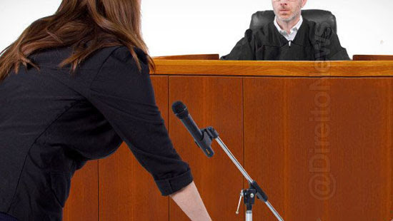 testemunha muda depoimento medo reu direito