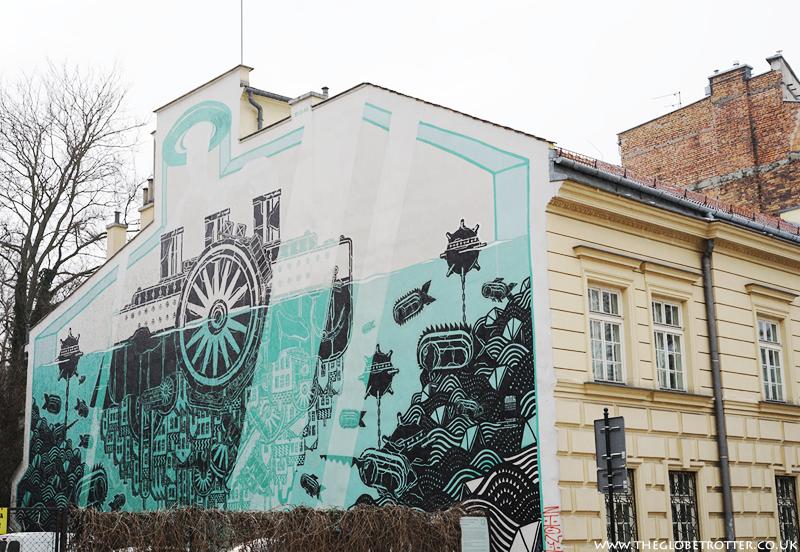 Street art in Kraków