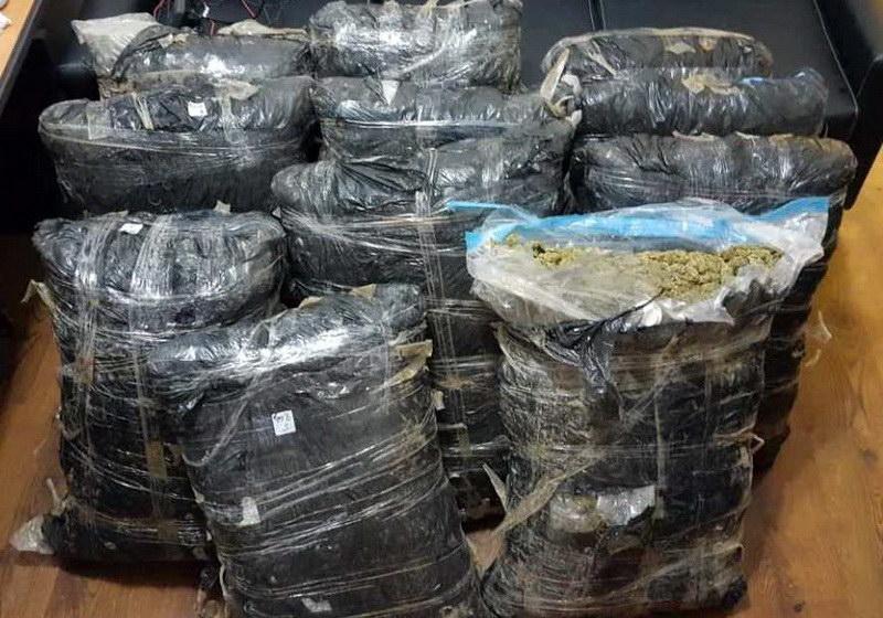 Συνελήφθη 55χρονος στο Δέλτα Έβρου με 100 κιλά κάνναβη