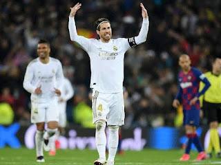 Statistics shows Sergio Ramos dominates Gerard Pique in 2019/20 La Liga season