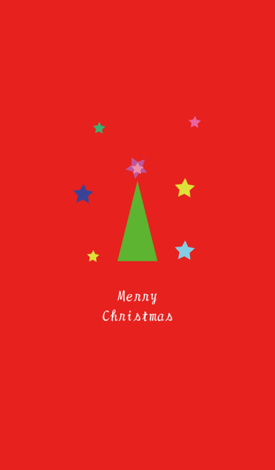 Merry Christmas-Red