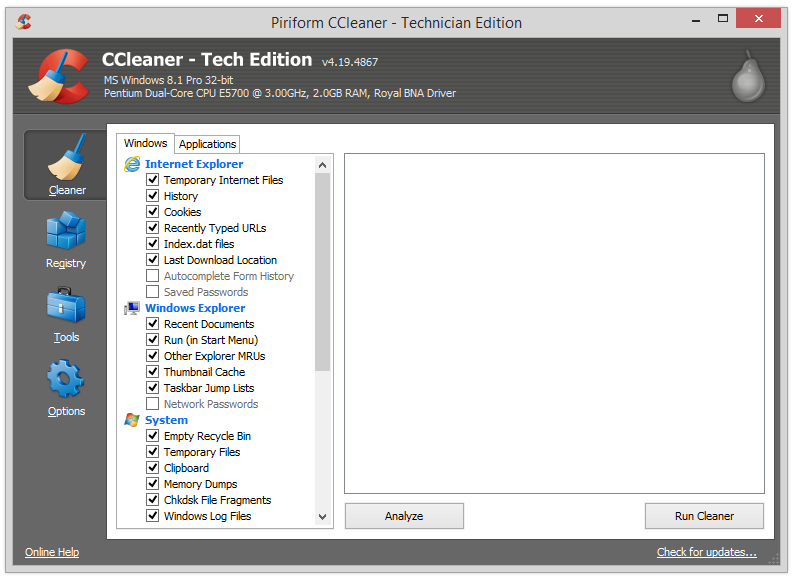 CCleaner Professional Plus 4.19