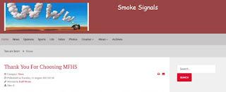 Smoke Signals MFHS