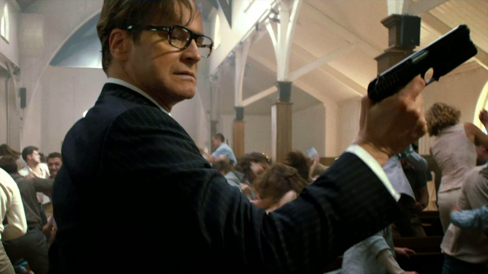 Kingsman The Secret Service Q A With: THE FINE ART DINER: This Isn't That Kind Of Movie