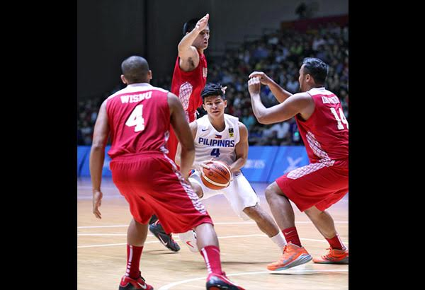 Kiefer Ravena had a tournament low of 12 points vs Indonesia in the Finals
