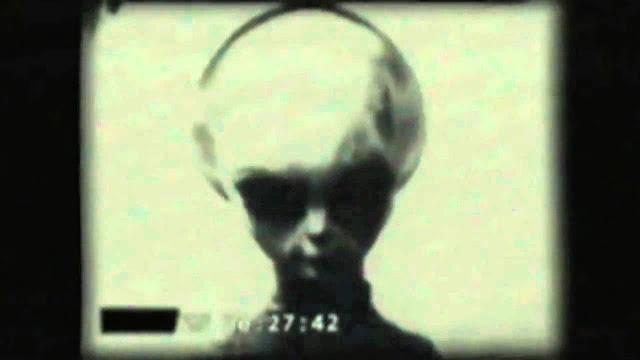 Imagen de un extraterrestre en Roswell, tomada del Informe Blue Book