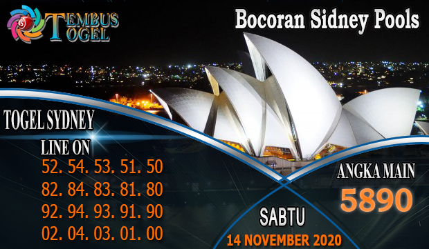 Bocoran Sidney Pools Hari Sabtu 14 November 2020