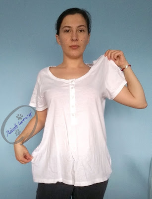 Adzik tworzy - Przerabianie ubrań DIY pomysły