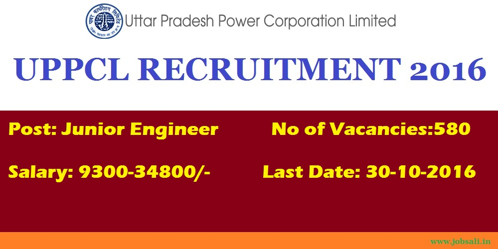UPPCL Vacancy, UPPCL Junior Engineer Recruitment, Upcoming Government Jobs