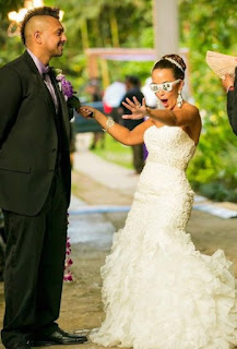 Wedding picture of Jodi Stewart and her hubby Sean
