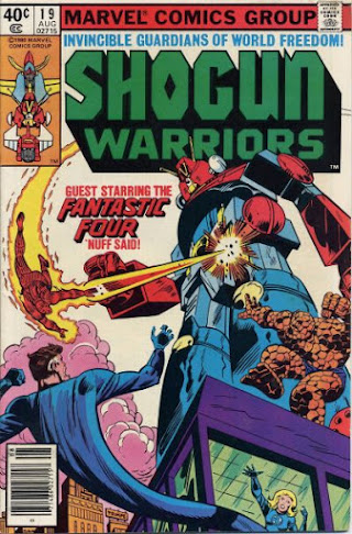 Shogun Warriors #19, the Fantastic Four