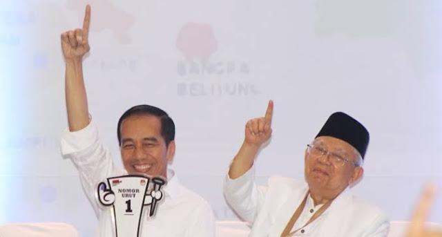 Selisih 7,7 Juta Suara, Jokowi-Ma'ruf Amin Menang di Jawa Timur