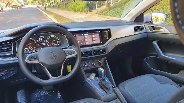 Volkswagen Nivus Comfortline - interior