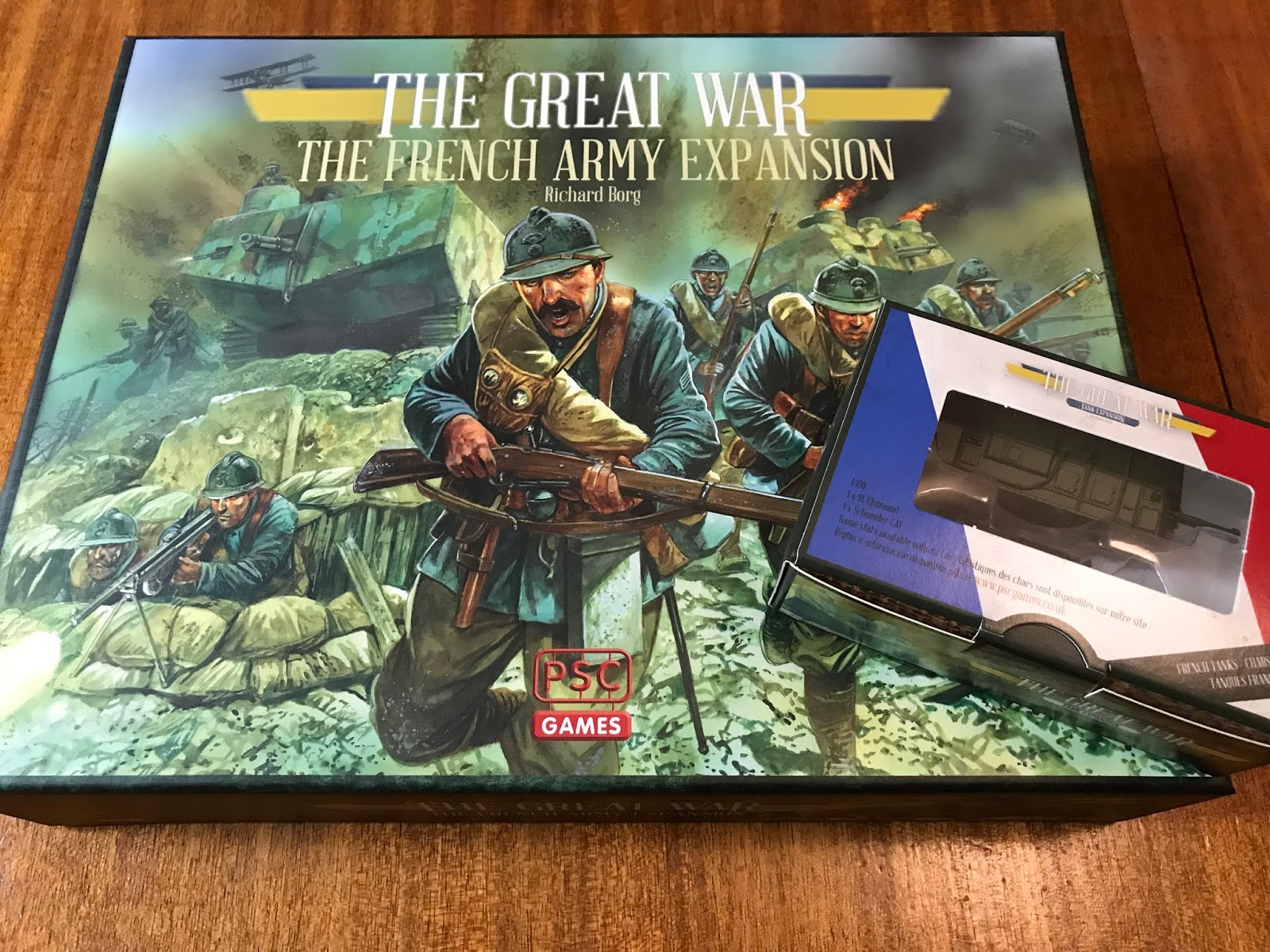 New The Great War Tank Expansion PSC Games