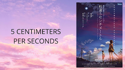 Film 5 Centimeters Per Second Makoto Shinkai