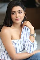 Avantika Mishra in One Shoulder Crop Top and Denim Jeggings ~  Exclusive 052.JPG