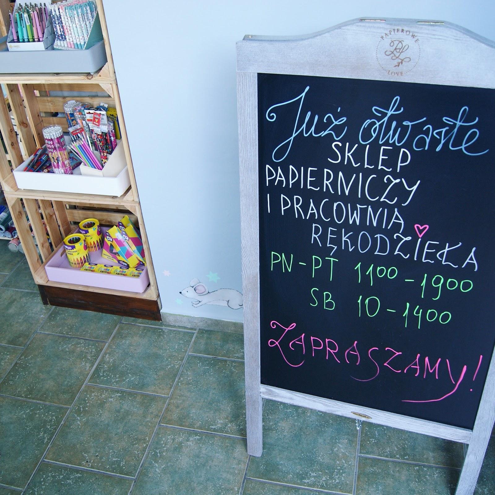 Papierowe Love - sklep papierniczy i pracownia rękodzieła Katarzyna Rajczakowska