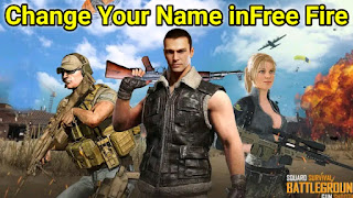 Free Fire Me Name Change Kaise Kare, Free fire stylish name In India