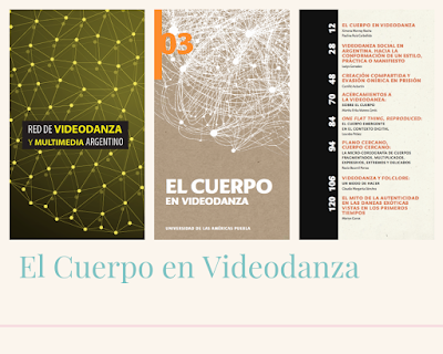 Presentación Libro Cuerpo en Videodanza en La Plata y Buenos Aires