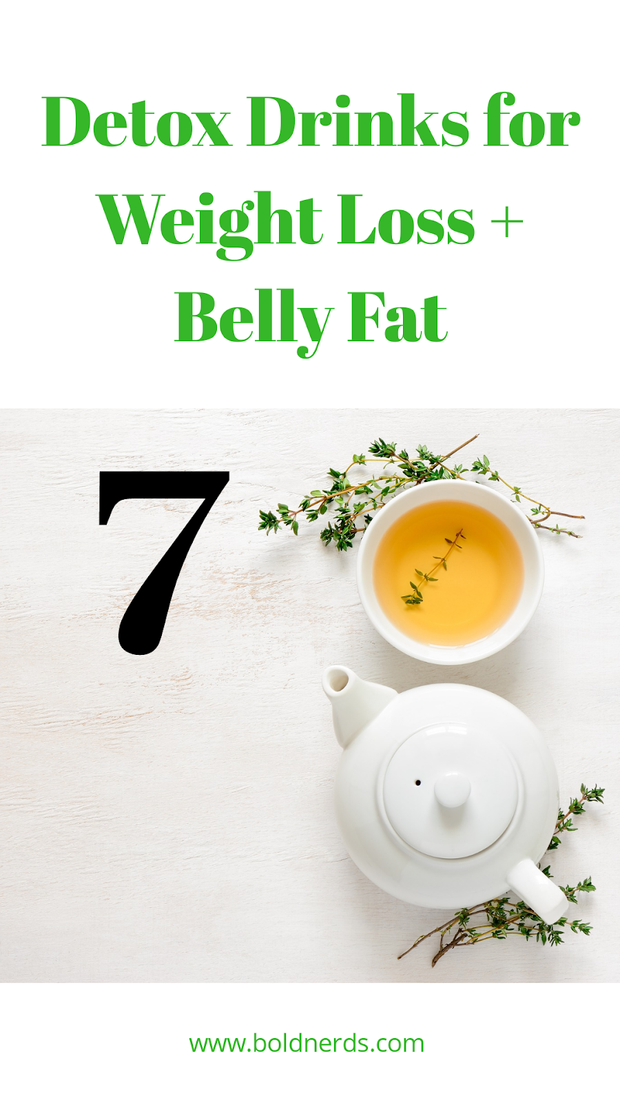 7 Most Effective Detox Teas for Weight Loss & Belly Fat