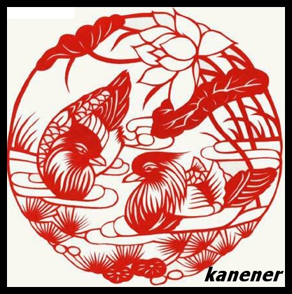 Oil Painting The Art Of Chinese Paper Cutting