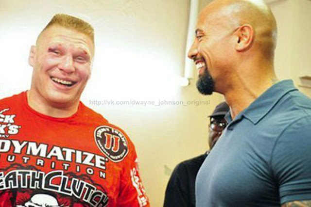 Lesnar jövője: UFC vagy The Rock?