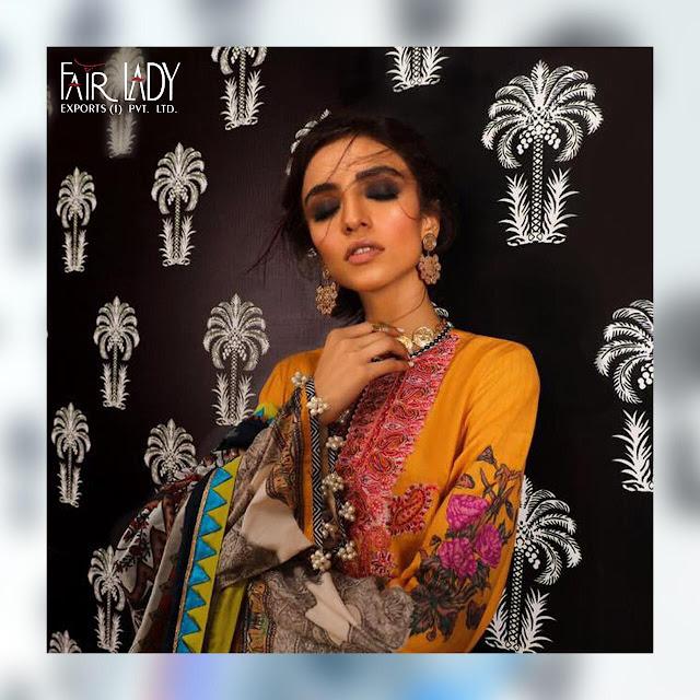 Fair Lady Mahay Sana Safinaz Pakistani Suits Hit Design In Wholesale