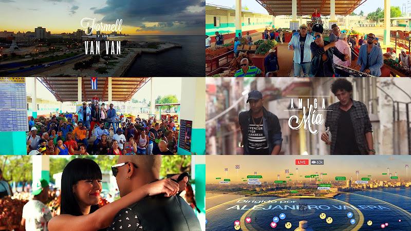 Formell y Los Van Van - ¨Amiga mía¨ - Videoclip - Dirección: Alejandro Valera. Portal Del Vídeo Clip Cubano