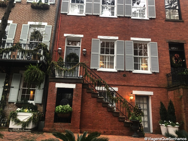 O que conhecer em Savannah na Georgia