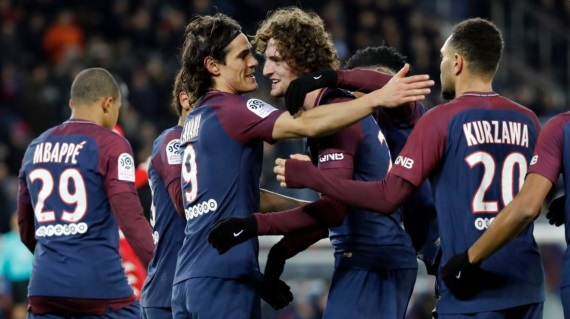 Goals from Angel Di Maria, Javier Pastore and Kylian Mbappe helped PSG register a 3-1 win over Lille at the Parc de Princes