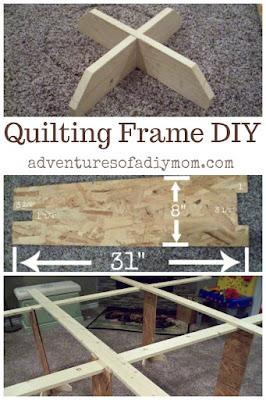 DIY Quilting Frame